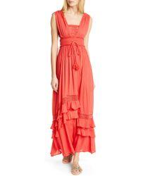 c9b58965e Lyst - Free People Santa Maria Maxi Dress By Endless Summer
