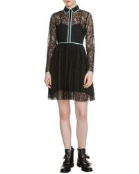 Maje | Rabilo Lace Shirtdress | Lyst