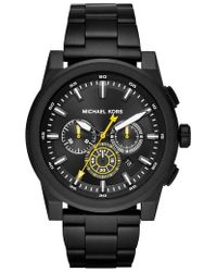 Michael Kors - Grayson Chronograph Bracelet Watch - Lyst