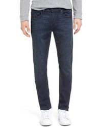 PAIGE - Croft Transcend Skinny Fit Jeans - Lyst