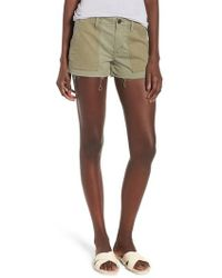 Hudson Jeans - Jaclyn Cutoff Flight Shorts - Lyst