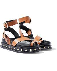 TOPSHOP - Fawn Studded Platform Sandal - Lyst