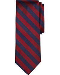 Brooks Brothers - Thick Stripe Silk Tie (x-long) - Lyst