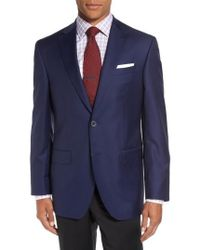 David Donahue - 'connor' Classic Fit Solid Wool Sport Coat - Lyst