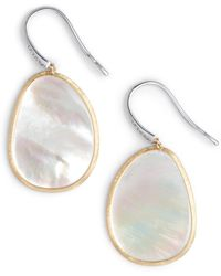 Marco Bicego - Lunaria Mother Of Pearl Drop Earrings - Lyst
