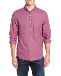 Vineyard Vines - Tradewinds Slim Fit Check Flannel Shirt - Lyst