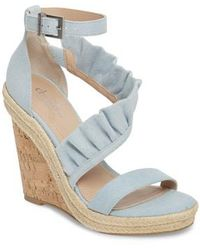 Charles David | Brooke Espadrille Wedge Sandal | Lyst