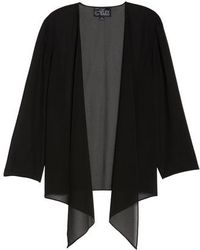 Alex Evenings - Georgette Open Jacket - Lyst