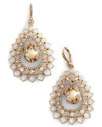 Marchesa Open Pear Drop Earrings