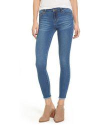 Tinsel - Crop Skinny Jeans - Lyst