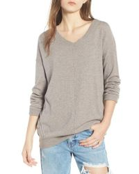 Dreamers By Debut - Exposed Seam Sweater - Lyst