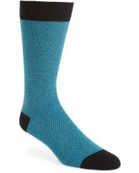 Ted Baker | Joaquim Solid Socks | Lyst