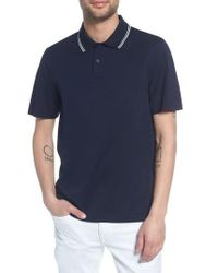Vince - Regular Fit Polo - Lyst