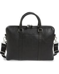 Shinola - Signature Leather Briefcase - Lyst