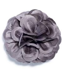 Hook + Albert - Large Lapel Flower - Lyst