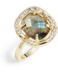 Melinda Maria - Elizabeth Labradorite Ring - Lyst