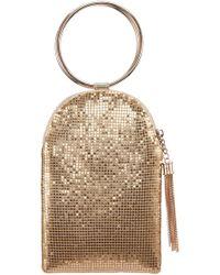 Nina - Metallic Mesh Handbag - Metallic - Lyst
