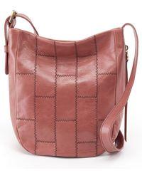 Hobo - Kharma Patchwork Calfskin Leather Bucket Bag - - Lyst 8f2b5af62c053