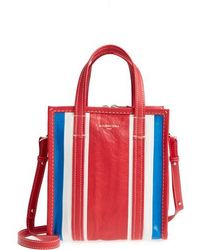 Balenciaga - Extra Small Bazar Leather Aj Shopper - Lyst