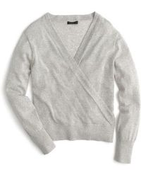 J.Crew | J.crew Merino Wrap Sweater | Lyst