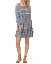 Rip Curl - Southeast Off The Shoulder Dress - Lyst