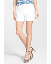Two By Vince Camuto - Five Pocket Denim Shorts - Lyst