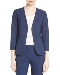 Theory - Lindrayia B Good Wool Suit Jacket - Lyst