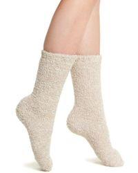 Barefoot Dreams - Barefoot Dreams Cozychic Socks - Lyst