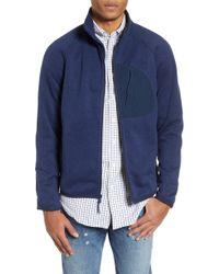 J.Crew - Classic Fit Fleece Sweater Jacket - Lyst