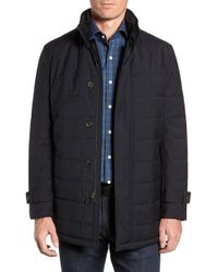 Cardinal Of Canada - Quilted Car Coat - Lyst