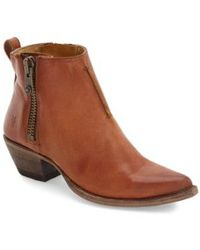 Frye - Sacha Washed Leather Ankle BootS - Lyst
