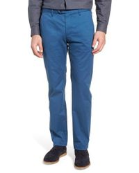 Ted Baker - Procor Slim Fit Chino Pants - Lyst