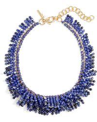 Lele Sadoughi - SHAGGY Stone Necklace - Lyst
