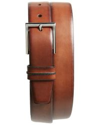 Cole Haan - Leather Belt - Lyst