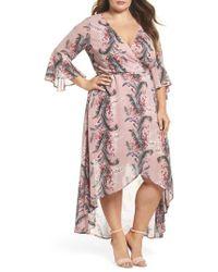 Glamorous | Print High/low Dress | Lyst
