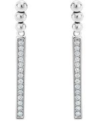 Lagos - Caviar Spark Diamond Drop Earrings - Lyst