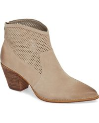 Treasure & Bond - Boone Perforated Western Bootie - Lyst