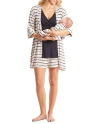 Everly Grey - Adalia 5-piece Maternity/nursing Pajama Set - Lyst