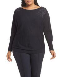 Lafayette 148 New York - Cashmere & Silk Dolman Sweater - Lyst