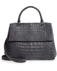 Nancy Gonzalez - Medium Sophie Genuine Crocodile Top Handle Bag - Lyst