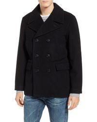 Pendleton - Maritime Wool Blend Peacoat - Lyst