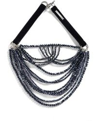 Fabiana Filippi - Multistrand Glass Bead Necklace - Lyst