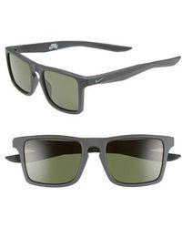 1cd6b520c0 Nike - Verge 52mm Sunglasses - Anthracite  Cool Grey  Green - Lyst