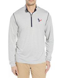 Cutter & Buck - Meridian - Houston Texans Regular Fit Half Zip Pullover - Lyst