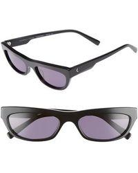 Kendall + Kylie - Courtney 55mm Cat Eye Sunglasses - - Lyst