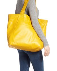 Victoria Beckham - Sunday Leather Tote Bag - Lyst