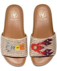 Cole Haan - Pinch Montauk Lobster Slide Sandal - Lyst