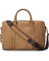 Shinola - Outrigger Slim Leather Briefcase - Lyst