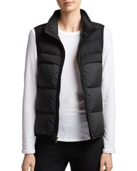James Perse - Quilted Down Vest - Lyst