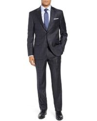 Peter Millar - Flynn Classic Fit Windowpane Wool Suit - Lyst